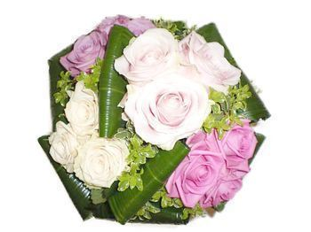 Bouquet Tendresse de roses roses